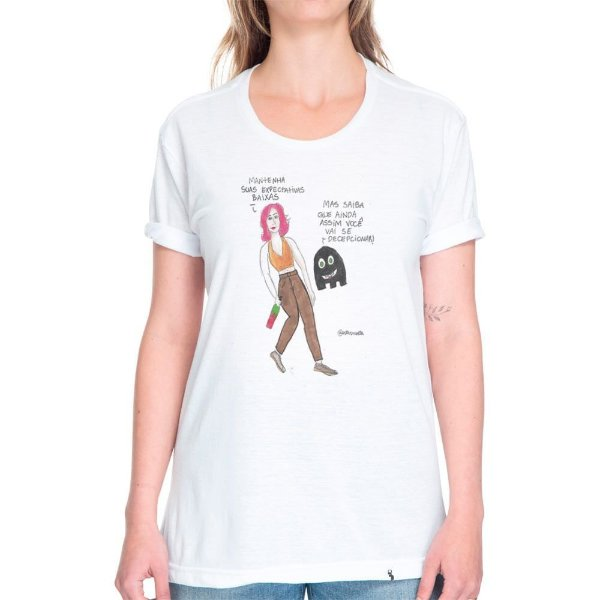 Decepção - Camiseta Basicona Unissex