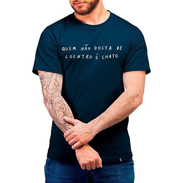 Quem Não Gosta de Coentro é Chato - Camiseta Basicona Unissex