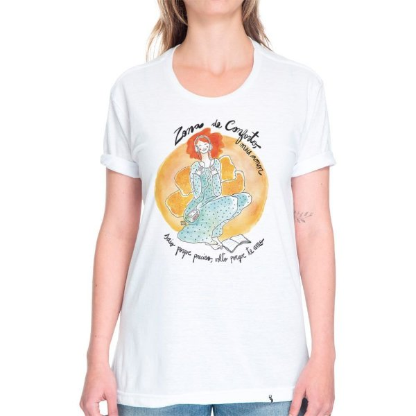 Zona de Conforto - Camiseta Basicona Unissex