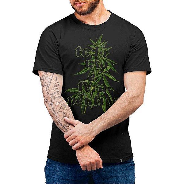 Todo Uso é Terapêutico - Camiseta Basicona Unissex