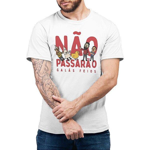 Não Passarão Mesmo - Camiseta Basicona Unissex