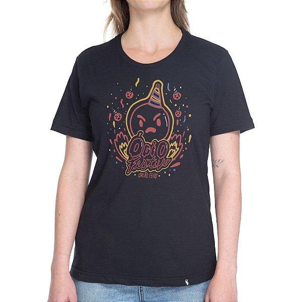 Ódio Festivo - Camiseta Basicona Unissex