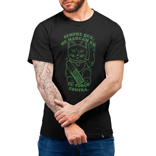 Eu Torço Contra - Camiseta Basicona Unissex