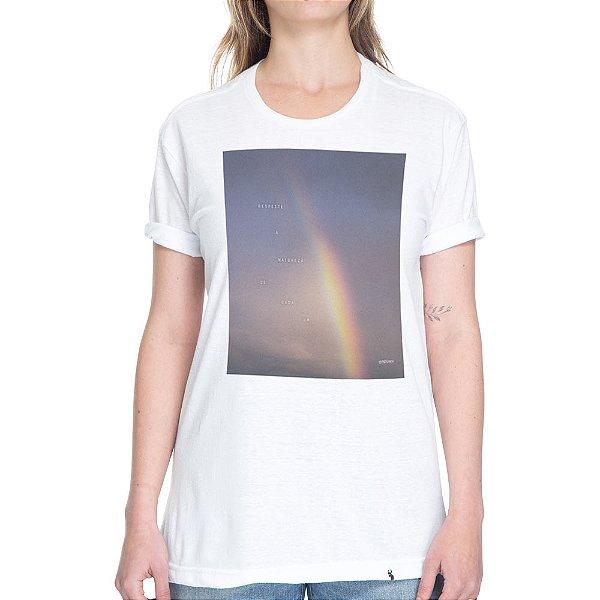 Respeite a Natureza de Cada Um - Camiseta Basicona Unissex