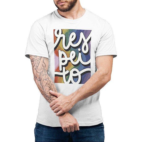 Respeito #pride - Camiseta Basicona Unissex