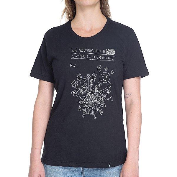 Compre Só o Essencial - Camiseta Basicona Unissex