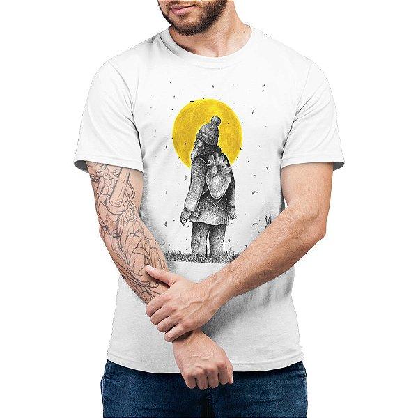 Quando Eu Ainda Esperava o Meu Amor Voltar - Camiseta Basicona Unissex