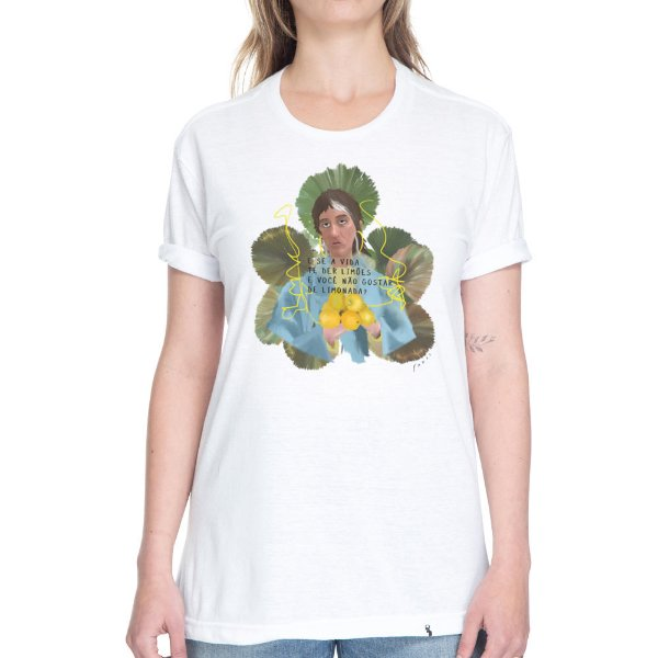 E se a Vida te Der Limões - Camiseta Basicona Unissex