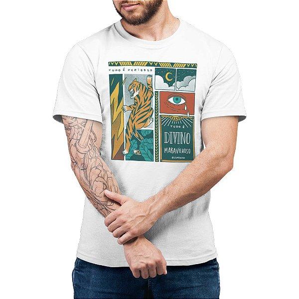 Tudo é Divino Maravilhoso - Camiseta Basicona Unissex