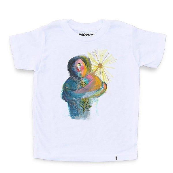 Auto-amor #azmina - Camiseta Clássica Infantil