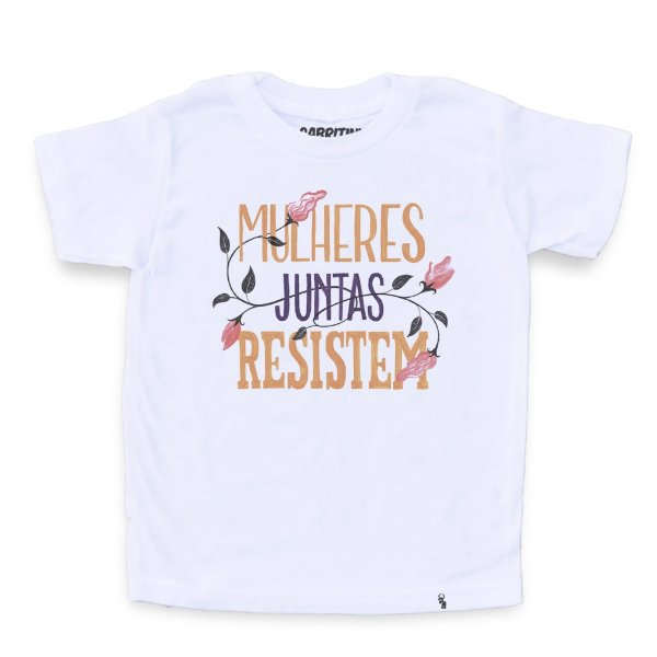 Mulheres Juntas Resistem #azmina - Camiseta Clássica Infantil