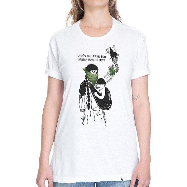 Verá Que Filha Tua #azmina - Camiseta Basicona Unissex