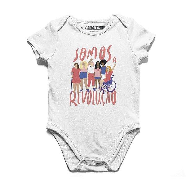 Somos a Revolução #azmina - Body Infantil