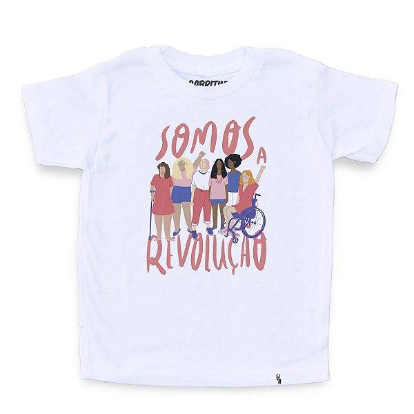 Somos a Revolução #azmina - Camiseta Clássica Infantil