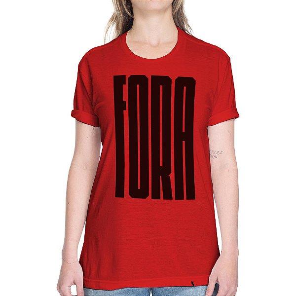 Fora - Camiseta Basicona Unissex