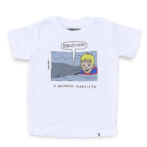 O Golfinho Marxista - Camiseta Clássica Infantil