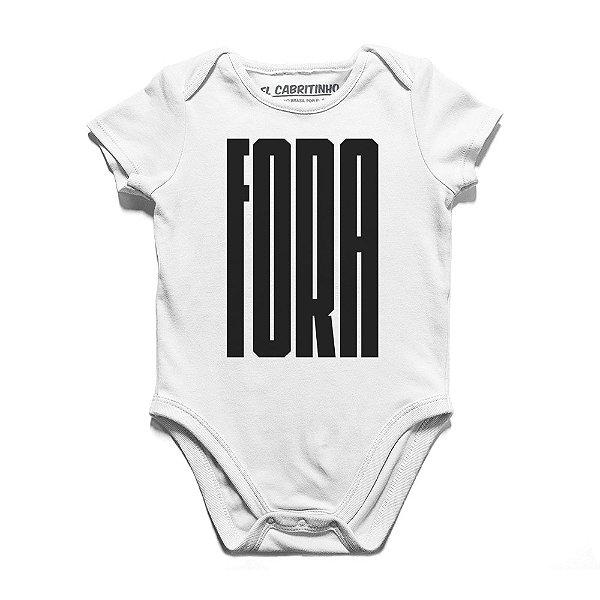 Fora - Body Infantil