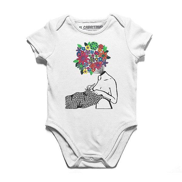 Tudo São Flores - Body Infantil