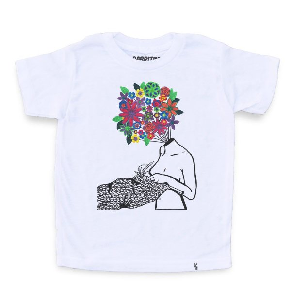 Tudo São Flores - Camiseta Clássica Infantil