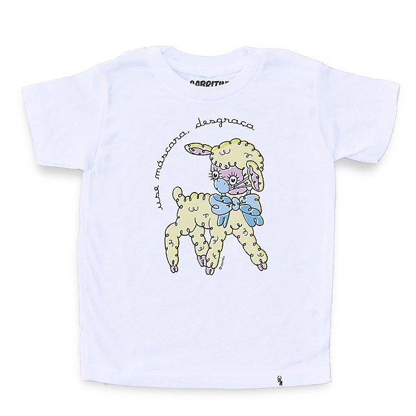 Use Máscara Desgraça - Camiseta Clássica Infantil