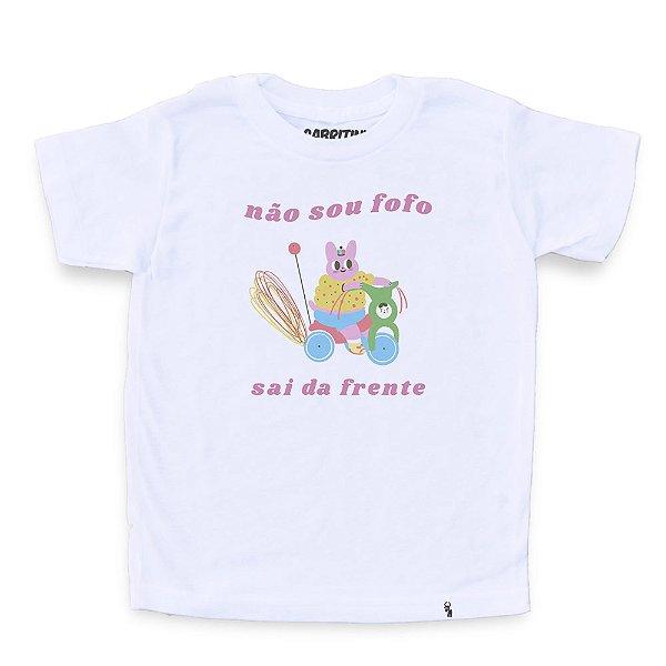 Não Sou Fofo - Camiseta Clássica Infantil