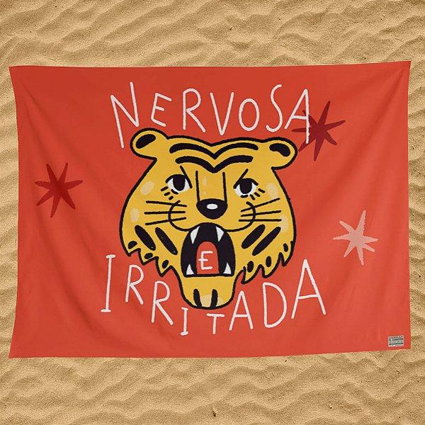 Nervosa e Irritada - Canga / Bandeira - Pré-venda