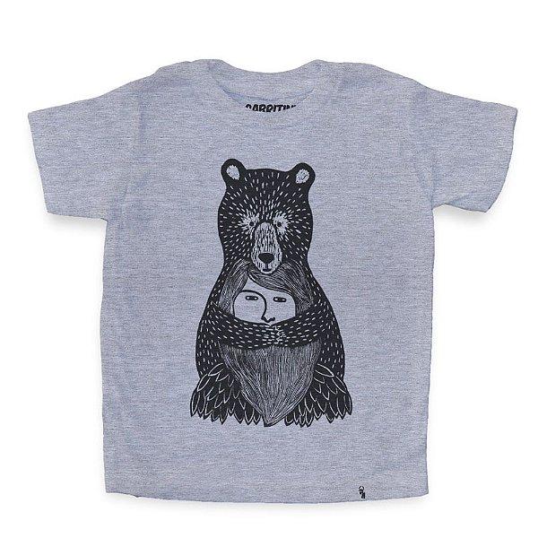 Abraço de Urso - Camiseta Clássica Infantil