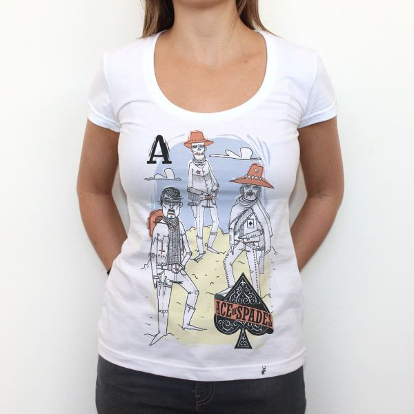 Ace of Spades - Camiseta Clássica Feminina
