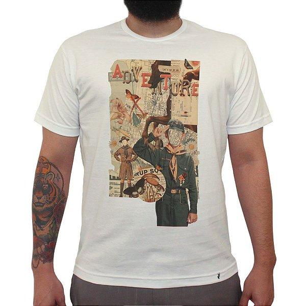 Adventure - Camiseta Clássica Masculina