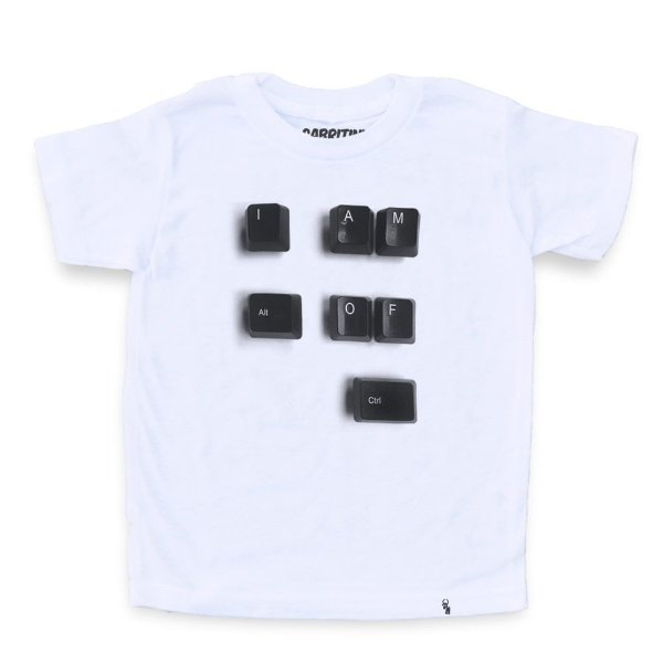 Alt of Ctrl - Camiseta Clássica Infantil