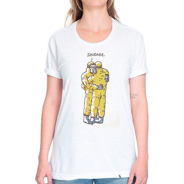 Amor nos Tempos de COVID-19 #cestabasica - Camiseta Basicona Unissex