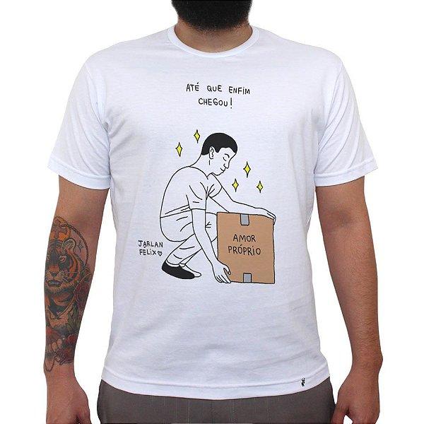 Amor próprio - Camiseta Clássica Masculina