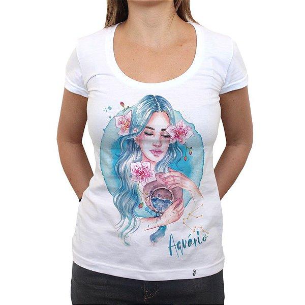 Aquariana - Camiseta Clássica Feminina