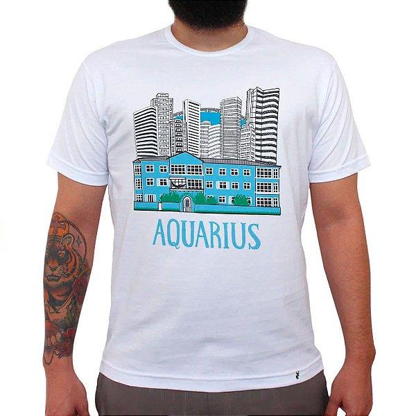 Aquarius Prédio - Camiseta Clássica Masculina