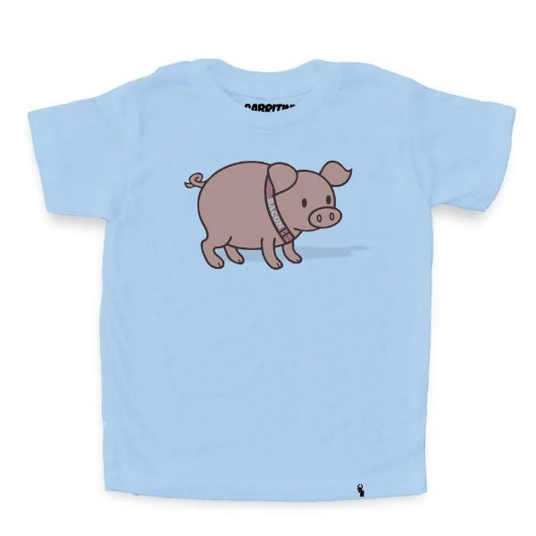Bacon - Camiseta Clássica Infantil