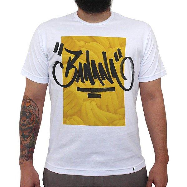 Banana Tag - Camiseta Clássica Masculina