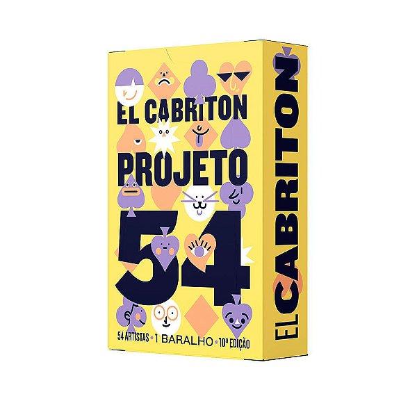 Baralho Projeto 54 – 10a Edição