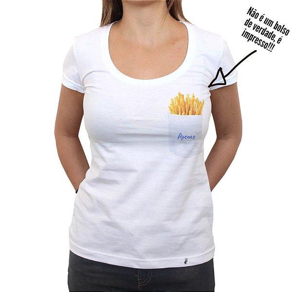 Batatas Apenas - Camiseta Clássica Feminina