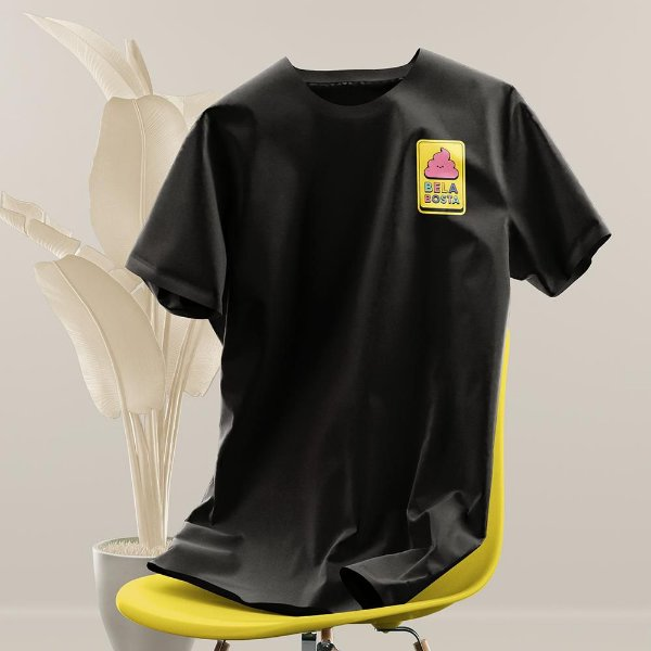 Bela Bosta - Camiseta Clássica Masculina
