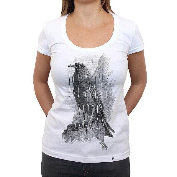 Black Bird - Camiseta Clássica Feminina