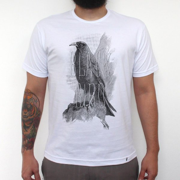 Black Bird - Camiseta Clássica Masculina