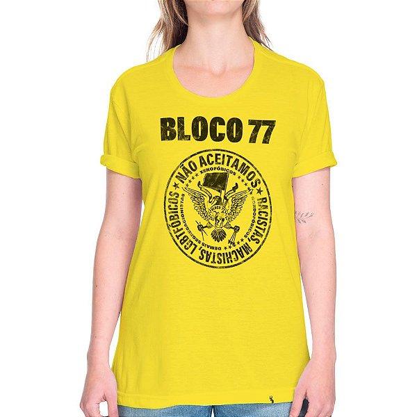 Bloco 77 - 2020 - Camiseta Basicona Unissex