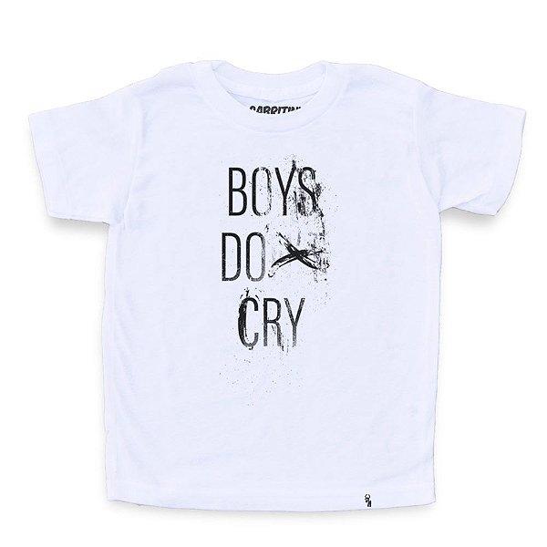 Boys Do Cry - Camiseta Clássica Infantil