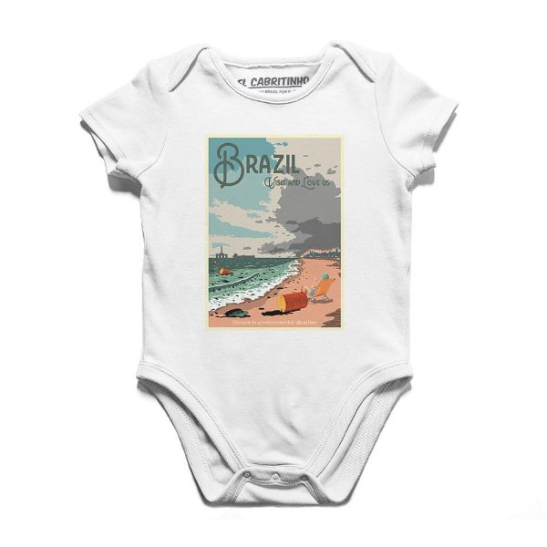 Brazil: Visit and Love Us - Body Infantil