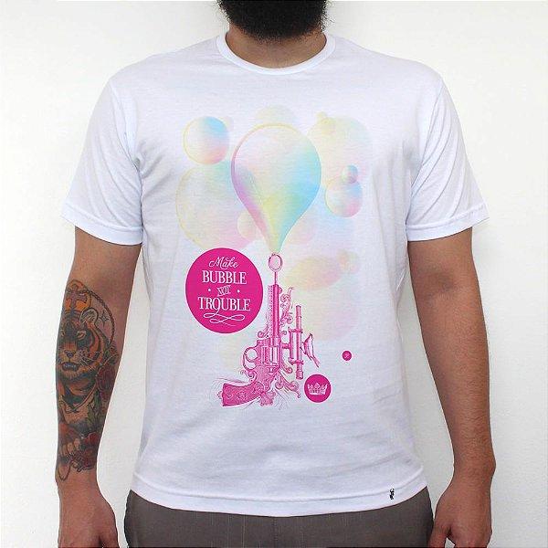 Bubble Gum - Camiseta Clássica Masculina