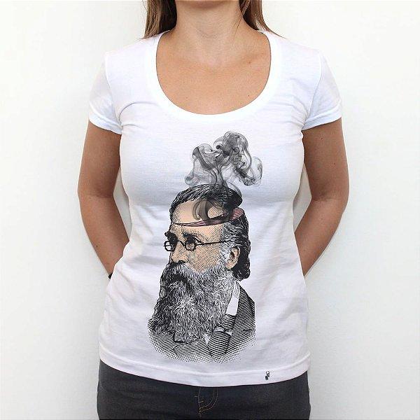 Cabeça de Fumaça - Camiseta Clássica Feminina