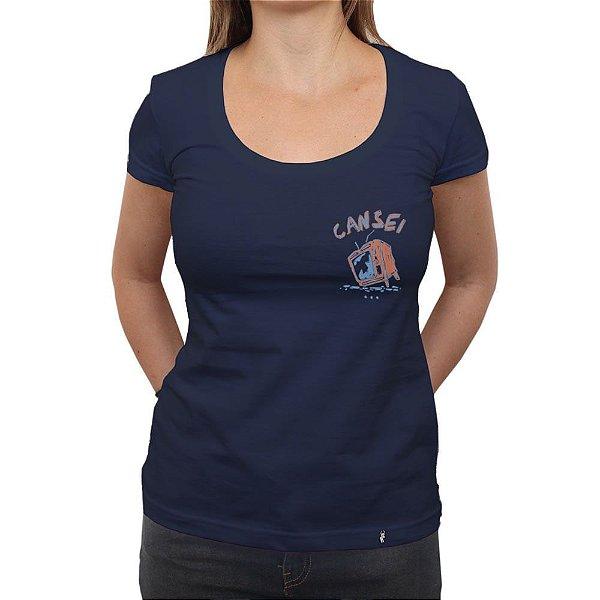 Cansei - Camiseta Clássica Feminina
