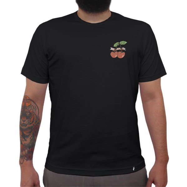 Cereja Foda-se - Camiseta Clássica Masculina