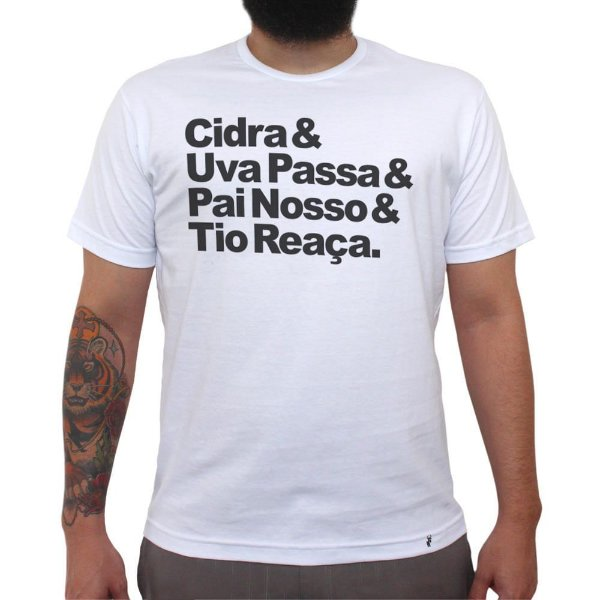 Cidra e Uva Passa - Camiseta Clássica Masculina