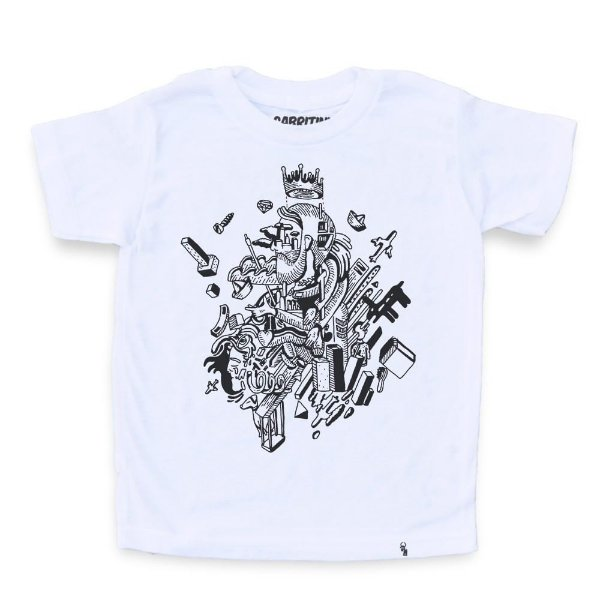 Coisas - Camiseta Clássica Infantil